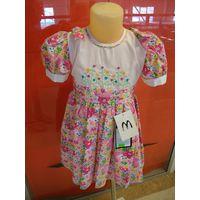 Платье для девочки, 92, 98 и 104 см, новое, Тайланд, 100% хлопок!