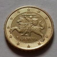 10 евроцентов, Литва 2017 г., AU