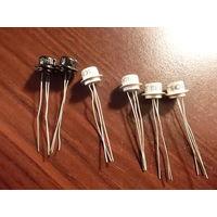Транзисторы МП 111А (2) и МП 111Б (4)  -6 шт одним лотом