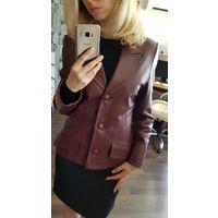 Пиджак женский кожаный размер 44