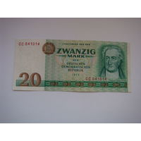 20 марок 1975 ГДР