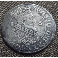 Сигизмунд  III. Орт 1624 Гданькс