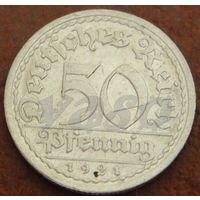 442**  50 пфеннигов 1921 А Германия