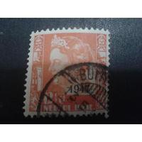 Нидерландская Индия 1947 Колония королева Вильгельмина, надпечатка