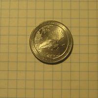 1/4 доллара 2015 Кисатчи
