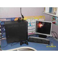 Компьютер 2 ядра 2.7ГГц 4Гб ОЗУ GF9500 с монитором