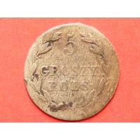 5 грошей 1818 года IB