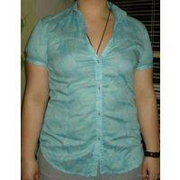Красивая фирменная блузка-рубашка, р-р 44-46, фирма ESPRIT