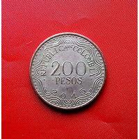 87-27 Колумбия, 200 песо 2015 г.