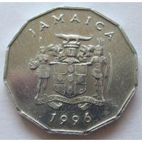 Ямайка 1 цент 1996 - нечастая, тираж неизвестен!