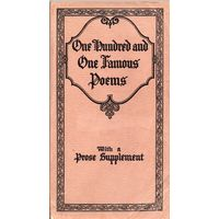 One Hundred and One Famous Poems (1929)