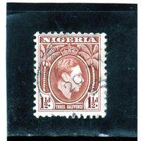 Нигерия.Ми-49. Король Георг VI. 1938.