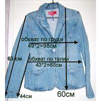 Куртка джинсовая, новая, р.50