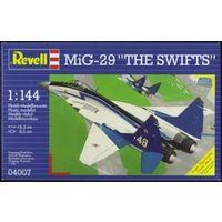 "Сборная модель Revell Самолет МиГ-29 ""The Swifts"", 1:144"