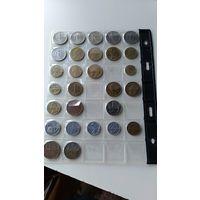 Набор монет из Европы