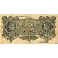 10 000 польских марок, 1922 г.