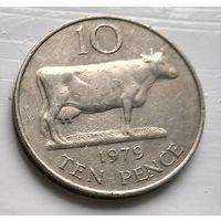 Гернси 10 пенсов, 1979 3-6-18