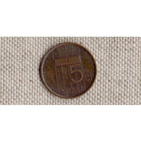 Нидерланды 5 центов 1984(Uss)
