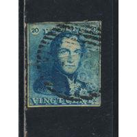 Бельгия Кор 1849 Леопольд I Стандарт #2