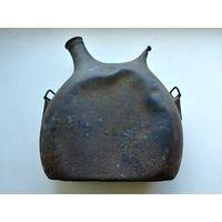 Редчайшая фляжка, фляга образца 1866 года, Mle1877 Франция, Литровая фляга с двумя горлышками! RAR