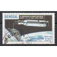 Космос Сенегал 1987 год серия из 1 марки