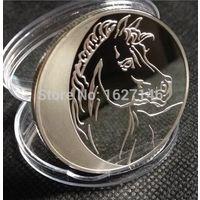 100 рублей 2014 Год лошади  Россия копия