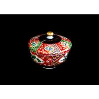 Имари Арита. Чашка для чая с крышкой. Роспись. Подписано. Сделано в Японии. Торг уместен.