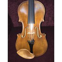 Старинная французская мастеровая скрипка Charles Bailly