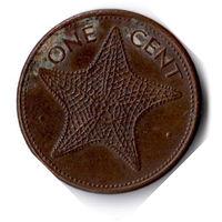 Багамские острова. 1 цент. 1998 г.