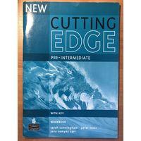 Cutting Edge pre-intermediate workbook + students book