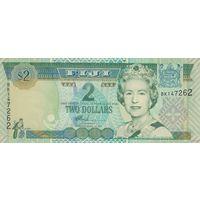 Фиджи 2 доллара 2002 (UNC)