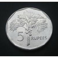 Сейшельские острова 5 рупий. 2010г.