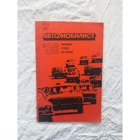 Журнал Автомобилист 86 Техника Спорт История