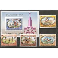 Чад 1980 Олимпийские игры