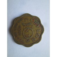 Цейлон. Шри Ланка. 10 центов 1944 ,Georg VI