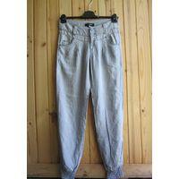 Летние джинсы Hydee, внизу на резинках, р.46
