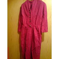 Платье шерстяное 50-60-е годы . Винтаж!