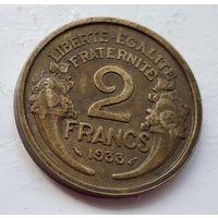 Франция 2 франка, 1933 5-3-10