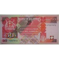 Уганда 50 шиллингов 1989 г. (g)