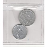 5 геллеров 1979 и 10 геллеров 1976. Возможен обмен