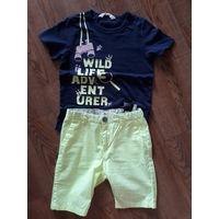Фирменный комплект шорты и майка