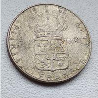Швеция 1 крона, 1966 6-7-20