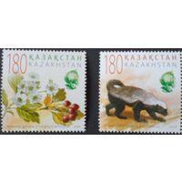 Казахстан фауна флора