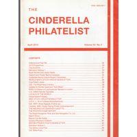 Журнал Cinderella Philatelist Великобритания апрель 2010 А4 формат 48 страниц лот РАСПРОДАЖА