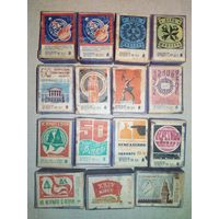 Спичечные коробки фанерные пустые СССР (коробок от спичек, фанера)