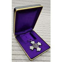 Япония Медаль Орден Крест Медик 1939-1945 Серебро