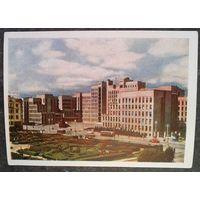 Минск. Площадь Ленина. 1959 г. Чистая