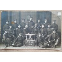 Фото немецких военных. 1 мировая война. 1917 г. 10х15 см
