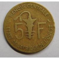 Западная Африка 5 франков 1971 г