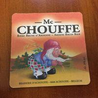Подставка под пиво Chouffe No 4 /Бельгия/